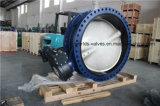 El diámetro grande Dn1400 ensanchó la válvula (D41X-10/16)