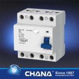 Остаточный в настоящее время автомат защити цепи (электромагнитный тип) RCCB с утверждением TUV