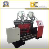 O tanque do compressor de ar tampa a máquina de soldadura