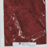 Yingcai 0.5m Overdracht die van het Water van het Ontwerp van de Breedte de Donkerrode Marmeren Hydrografische Film yc-113 afdrukken