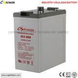 2 AGM van de volt 600ah Batterij voor Zonne Communicatie van de Wind Systeem