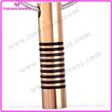 Chiffre populaire urne pendante en acier Neckl de vis de cylindre
