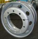 roue 22.5X12.25 en acier sans chambre pour TBR