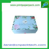 Chocolade die van het Karton van de douane de Stijve Vakje van de Gift van het Document van de Juwelen van het Parfum van het Vakje van de Verpakking van het Vakje het Kosmetische vouwen