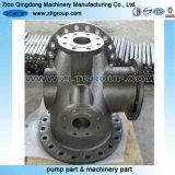 Válvula de reposição fazendo à máquina do aço inoxidável 316