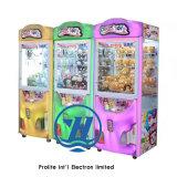 Máquina de juego de la diversión de la garra de la grúa del regalo de la máquina expendedora (ZJ-CGA-4)
