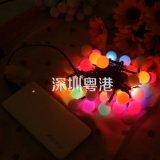 Licht van de Fee van de Tegenhanger van de Bal USB van de Verlichting 5m50LED van de nieuwigheid het Openlucht Decoratieve