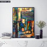 Art. van de Muur van de Straat van het impressionisme het Abstracte
