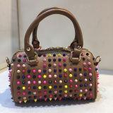 Горячей посыльный повелительниц PU способа кожаный обитый сумкой кладет симпатичные сумки в мешки Sy8024 девушки