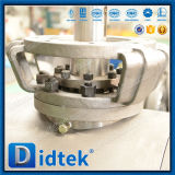 Vávula de bola ensanchada del extremo de la clase 900 seguros del diseño del fuego de Didtek API 6D
