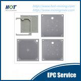 Feste und flüssige Trennung-Raum-Filterpresse-Platte