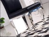 New Design Colorful PU Leather Metal Dining Chair Furniture