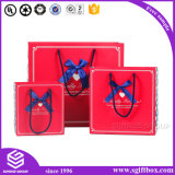 Nueva impresión especial del logotipo del diseño Bolsa de papel colorida de empaquetado