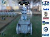 Válvula de porta marinha JIS do ferro de molde F7364 10k