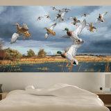 美しい高品質の図形自己接着壁画の壁紙の印刷