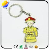 China-Kaiser-Drache-Robe-Decklack-Firmenzeichen-nette kleine Mann-Form Keychain