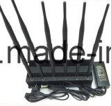 telefono Wi-Fi delle cellule dell'antenna 15W 6 ed emittente di disturbo del segnale di GPS