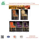 Restaurante moderno colorido del hotel que cena la silla de cena de madera de los muebles