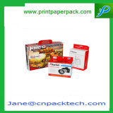 Cadre de empaquetage de carton de papier d'emballage de cadeau de carbone de jouet actif annexe fait sur commande de cadre