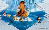 児童室の動物の世界の装飾の紫外線パネル