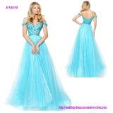 Популярное -Плечо конструкции платья вечера отбортовывая a - линию платье выпускного вечера
