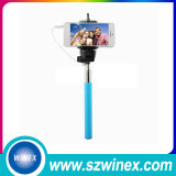 Всеобщая конфета миниое Selfie вставляет Palo связанное проволокой Monopod Extendable Selfie для Android Ios iPhone 6 5 Samsung Huawei Xiaomi LG