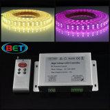 120LED / M Fil de cuivre RVB Changement de couleur Flexible LED Strip Light