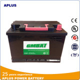 batterijen van de Auto van het Lood van het Onderhoud 56219mf 12V62ah de Vrije Zure voor Aanvang