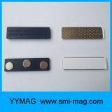 Магниты названной бирки магнитов держателя нагрудной планки с фамилией участника высокого качества пластичные