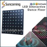 Iluminación IP65 LED interactivo al aire libre Dance Floor de DJ de la boda