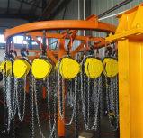 Bloque de polea de cadena de 3 toneladas con el encadenamiento del acero de aleación