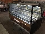 Showcase do gelado de Gelato/congeladores italianos gelado para a venda (approvel do CE)