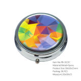 Оптовый круг украшая красивейший франтовской случай пилюльки
