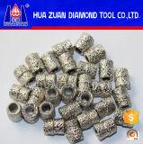 Corte de piedra Sinter de cables y sierra eléctrica Granos para la sierra de alambre del diamante