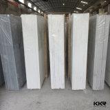 卸売2cmの純粋で白い人工的な石造りの水晶平板