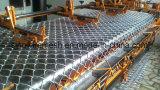 Cerca revestida galvanizada do engranzamento da ligação Chain do PVC do engranzamento de fio do ferro