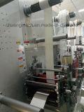 이중 면 접착제, 플라스틱 접착제, 자동 접착 레이블, 포일, 필름은, 회전하는 정지한다 Cuttting 기계를 거품이 인다