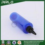 bottiglia di plastica del contagoccia dell'animale domestico vuoto blu 250ml con  Bottiglia della protezione di torsione dell'unicorno