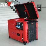 El Ce del alambre de cobre del bisonte (China) BS3500ds 3kVA 3000W aprobó el generador silencioso garantizado 1 año refrigerado del diesel del Portable 3kw
