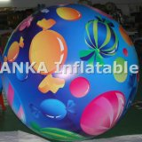 Ballon gonflable de PVC Heliume de décoration d'usager grand