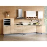 Mobilia classica della cucina del MDF del PVC di stile