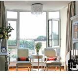 La ventana de aluminio del marco de la buena calidad tiene precio razonable (FT-W108)