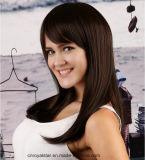 Парик шнурка естественных волос Mop Remy цвета прямых полный