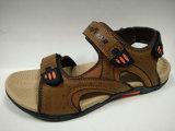 Sandali di cuoio casuali esterni di estate per gli uomini