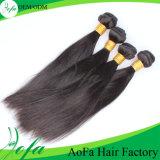 2016の熱い販売のインド人100%の加工されていないバージンの毛のRemyの人間の毛髪の拡張