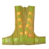 Maglia riflettente all'ingrosso dei vestiti da lavoro di sicurezza LED