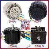 C.C. Motor de 10kw Brushless para Electric Cars