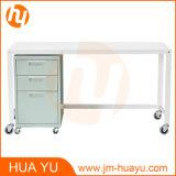 Soho Büro-Möbel-weißes Metalrollen-Werktisch-Tisch für Systemkonsole