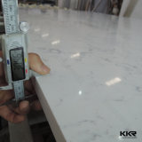 pierre artificielle blanche de quartz de 20mm Carrare Silestone