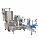 Daily Chemical/Oils를 위한 자동적인 2 헤드 20L Painting 또는 Coating Filling Machine